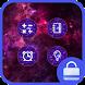 Galaxy Locker theme by I Theme Studio