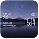 Mount Fuji night weather by Widget Studio
