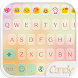 Candy Color Emoji Keyboard by Colorful Design