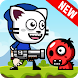 Cat Mask Boy Shooter Adventure Game