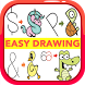 Easy Drawing Step by Step : easy drawing for kids by Zoe Coudert
