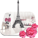 Cute paris HD live wallpaper by Keyboard and HD Live Wallpapers