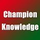 Champion knowledge by BigDreamStudio