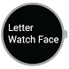 Letter Watch Face by Clicky