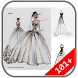 Wedding Dress Design Sketches by Winda App Studio