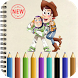 Coloring Book For Toy Story by Will dev