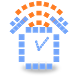 Radio Alarm Clock AtomaRadio by Nodes