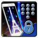 paris night neon eiffel tower by Free new hot colorful themes