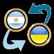 Arg. Peso x Ukrainian Hryvnia