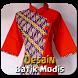 Desain Batik Modis by MepongDeveloper