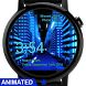 Animated Neon City Watch Face by osthoro