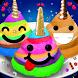 Unicorn Poo Emoji Meringue Cookies Maker Chef by Vision Gaming Studio