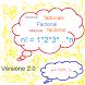 Calcolo Fattoriale n!=1*2*..*n