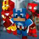 Blocky Super Hero Run by Craft The Cube