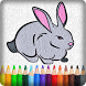 Coloring Bunny For Kids by DAGAME