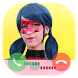 Fake Call Ladybug Superhero