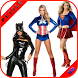 Superheroes Sexy Girls Puzzle by Puzzles Girls Generation