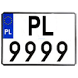 Tablice Rejestracyjne PL by LegacySoftware