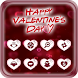 I Love Valentines Day Launcher Theme by Art Theme Studio