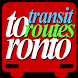 Toronto Transit Routes by intnetser