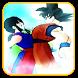 Goku Fusion Budokai Attack by Rose Gokin War