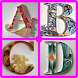 Quilling Paper Alphabets by Ladyzeal