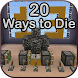 20 Ways to Die Maps for MCPE by ModMaker