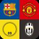 Soccer Clubs Logo Quiz by WebTuto