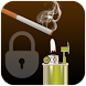 Cigarette Screen Lock by Go AppStack