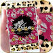 Gold Leopard Kiss Lips Theme by MT Digits