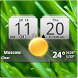 MIUI Digital Weather Clock by Factory Widgets