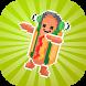 Dancing Hotdog Flip Challenge 2k17 by DieBackStudios