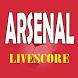 Livescore Arsenal 2017 - 2018