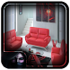 Modern Leather Living Room Set by Psionic Trap
