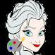 coloriage de la reine by startechweb.com
