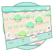 Pink Sweet Cupcake Park Keyboard Theme by Brandon Buchner