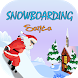 Snow boarding Santa by funny games