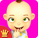 My Baby: Baby Girl Babsy Gold by Kaufcom Games Apps Widgets