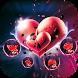red heart theme beautiful wallpaper by YINGZHI