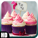 Cupcake Pack 2 Wallpaper by GalaxyLwp