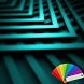 Zig Zag Teal XP Theme by Arjun Arora