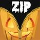 Halloween Zipper Lock Screen by Goldenboy07