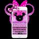 Cute Minny Pink Bowknot Keyboard Theme by Keyboard Theme Artist (Smart Keyboard And2017)