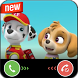 Call from Paw Dog Patrol simulation