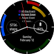 First - a Calendar Watchface by RJR Apps