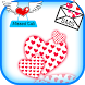 Love Heart Live Widget by The World of Digital Clocks