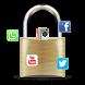 Serrure AppLock WhatsApp Facebook Instagram by H&K WEB