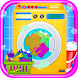 Laundry Girl Dirty Cloth Wash by Happy Baby Games - Free Preschool Educational Apps