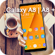 Golden Theme for Samsung Galaxy A8 by Beauty Theme Studio