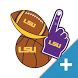 LSU Tigers PLUS Selfie Stickers by 2Thumbz, Inc